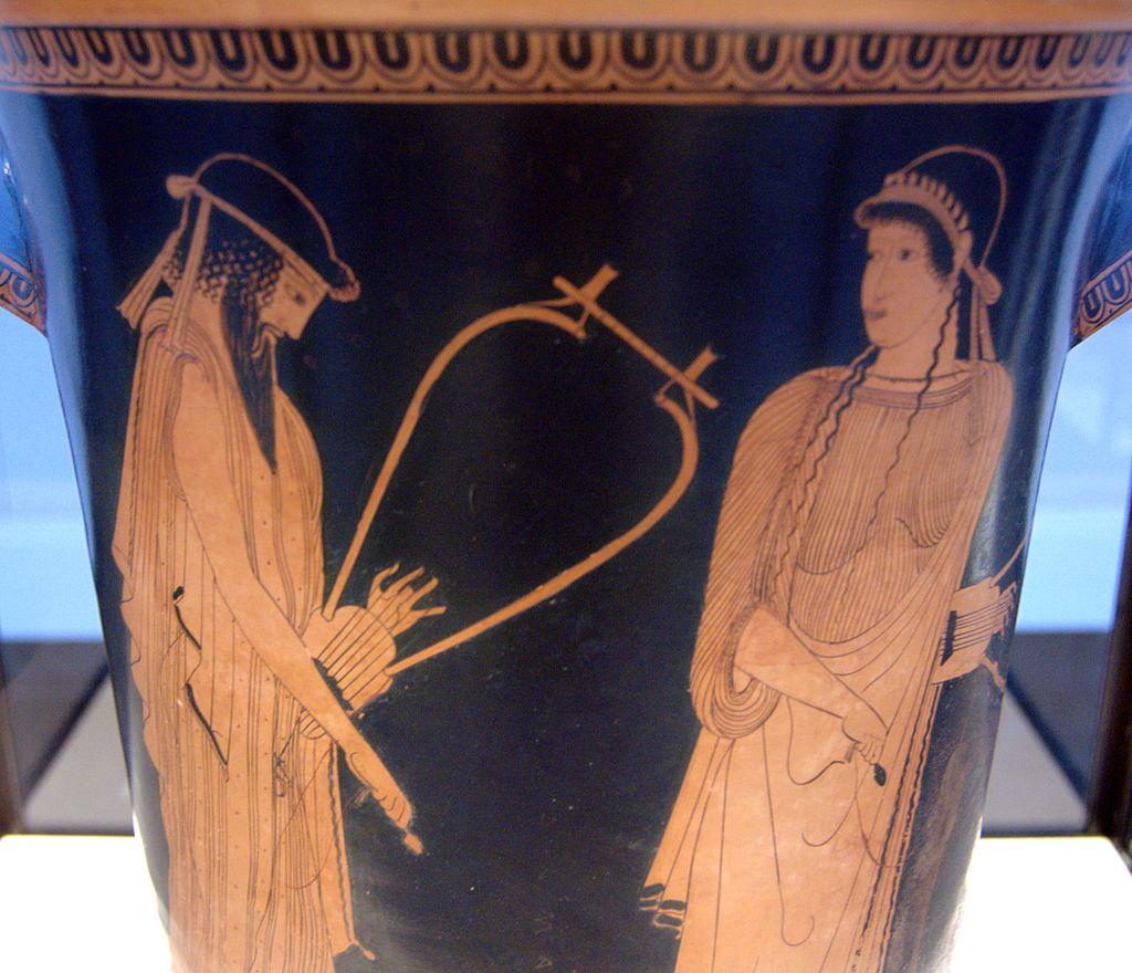 Alkaios und Sappho