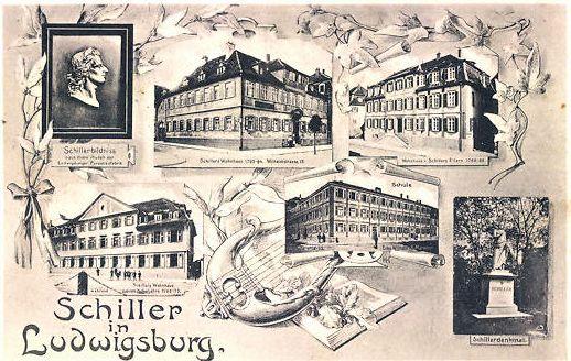 Schiller in Ludwigsburg