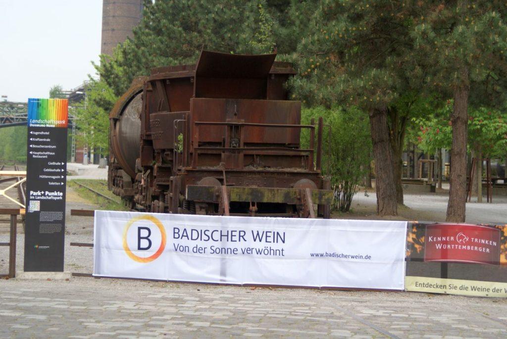 Weinanbaugebiet Württemberg: BaWü Calssic Weinmesse Landschaftspark Nord Duisburg