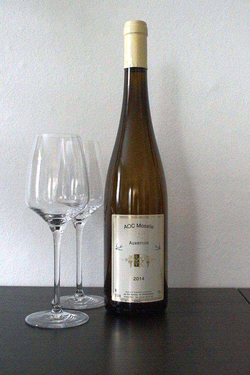 Auxerrois der Domaine Sommy - Lothringen - AOC Moselle