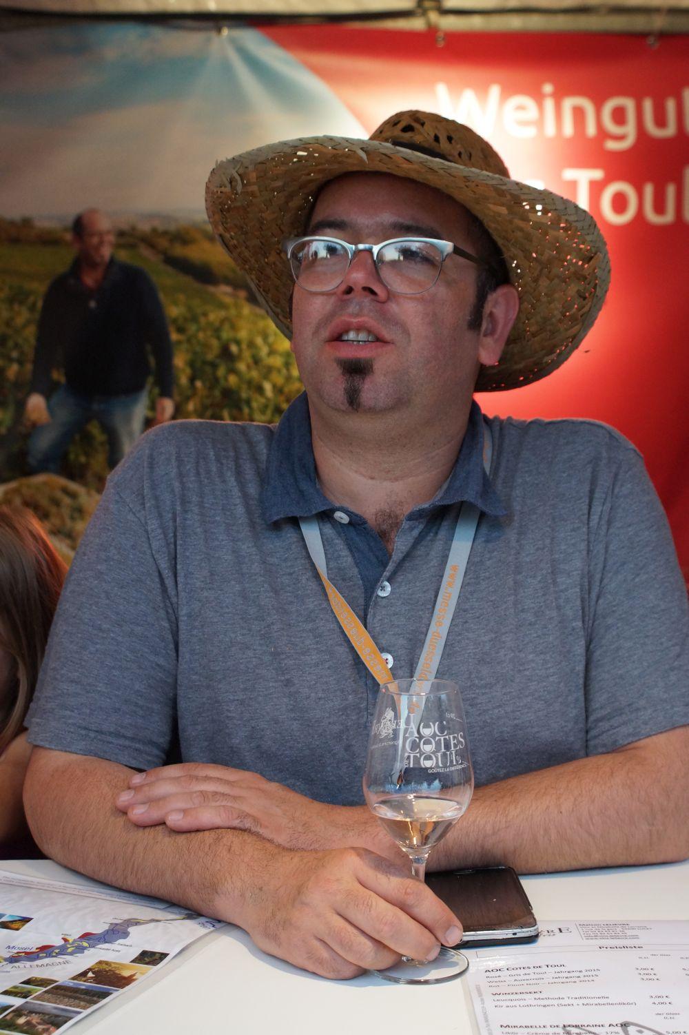 David Lelièvre - Weingut Lelièvre Lucey (Lothringen)