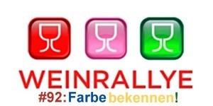 Weinrallye #92: Farbe bekennen