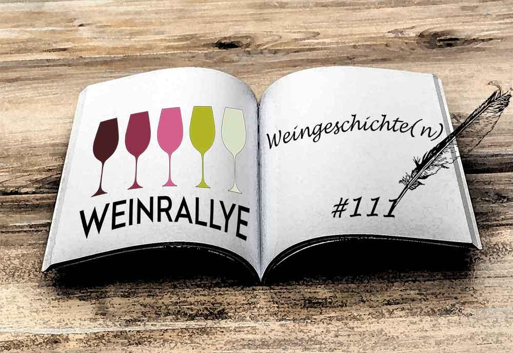 Weinrallye #111 Weingeschichte-n Logo