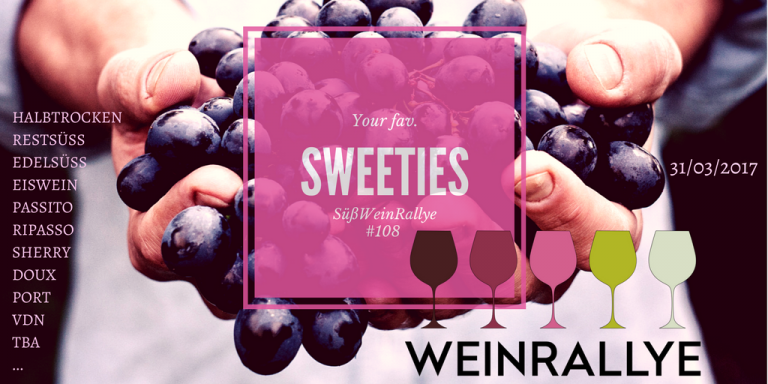 Weinrallye #108 Sweeties - Logo