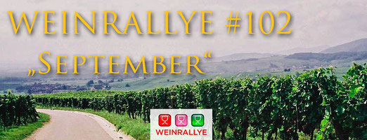 Weinrallye #102 September - Regent im September - Logo