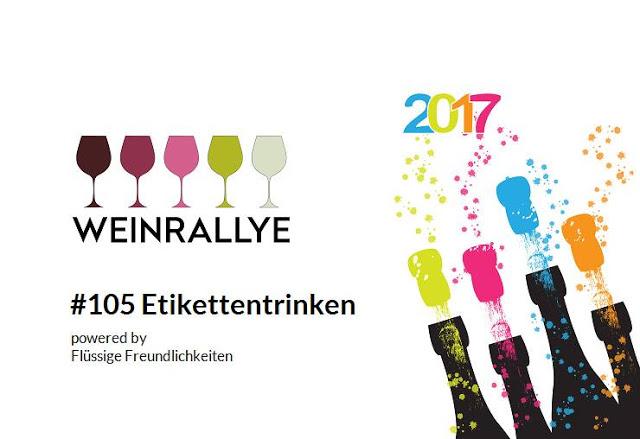 Weinrallye #105 Etikettentrinken - Logo - Etiketten Trinker